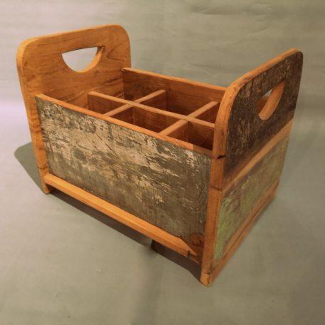 Lectuurbak-flessenhouder-gerecycled-hout