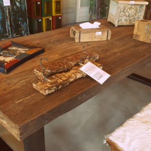 Robuuste tafel Bassano