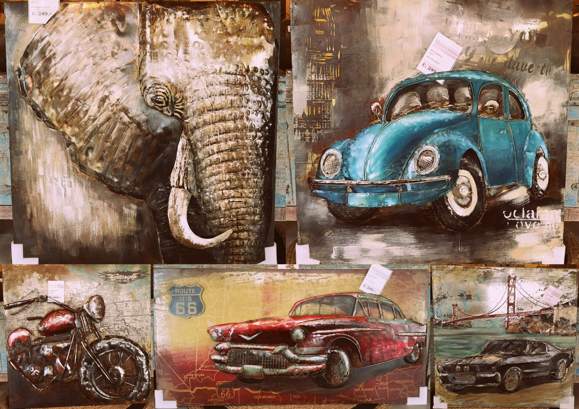 3d Schilderij Metaal.3d Schilderijen