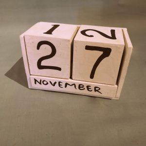 Kalenderblok-wit