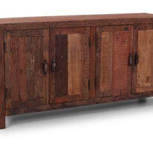 robuust dressoir van oude teakdelen