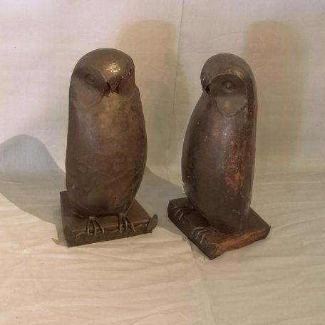 Pinguin-zwart-metaal