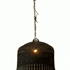 Kipperenlamp-replica-zwart